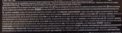 Caramel Almond & Sea Salt - Ingredients - en