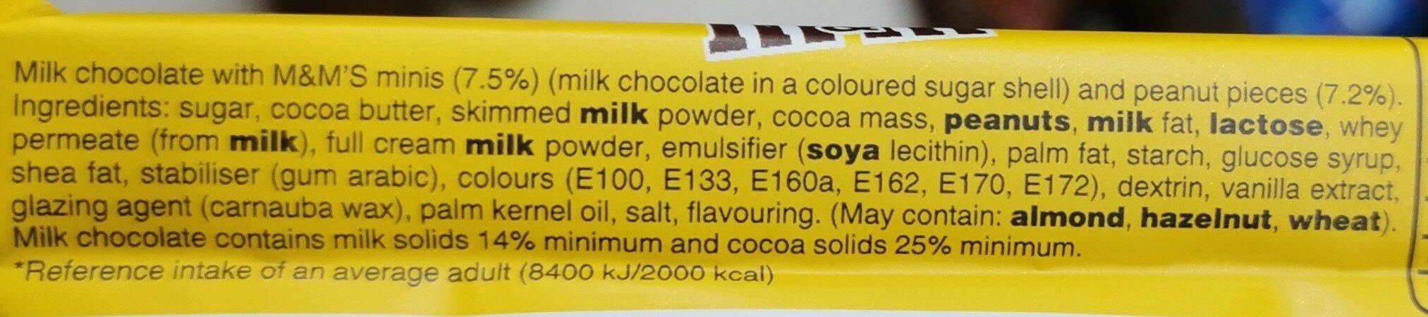 Barretta mem's peanut - Ingredients - en