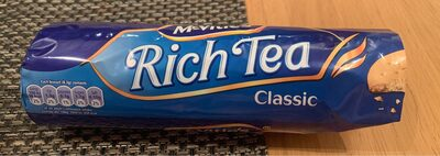 McVities Rich Tea Biscuits - Product