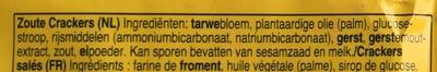 Snack Crackers - Ingredients - nl