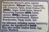Melts Cheese - Ingredients - en
