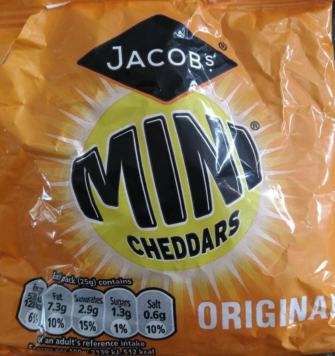 Mini Cheddars 7 Pack - Produit
