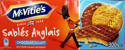 Sablés Anglais Chocolat au lait - Product