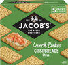 The Baker Brothers Lunch Bakes Crispbreads Chive - Product