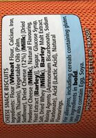Cheesonal Mini cheddars - Ingredients - en
