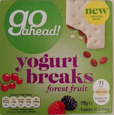 Yogurt breaks - Product