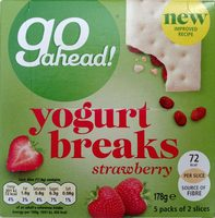 Go Ahead Strawberry Yoghurt - Product
