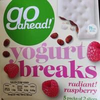 Yogurt Breaks Raspberry - Product - en