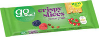 Go Ahead! Crispy Slices Forest Fruit - Product - fr