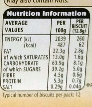DéliChoc chocolat noir - Nutrition facts - fr