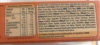Mcvitie's Hobnobs Milk Chocolate & Golden Syrup Oaty Snack - Voedigswaarden