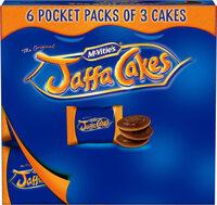 Jaffa Cakes 6×snack pack - Produit - fr