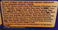 Jaffa Cakes 6×snack pack - Ingrédients - fr