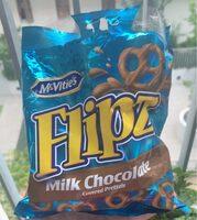 Flipz milk chocolate - Produit - en