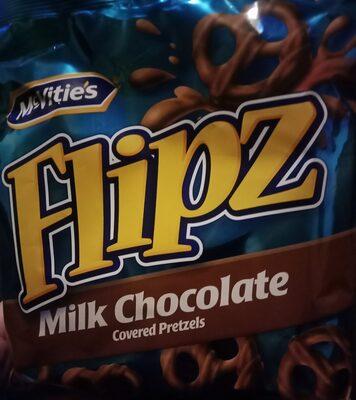 Flipz milk chocolate - Ingrédients