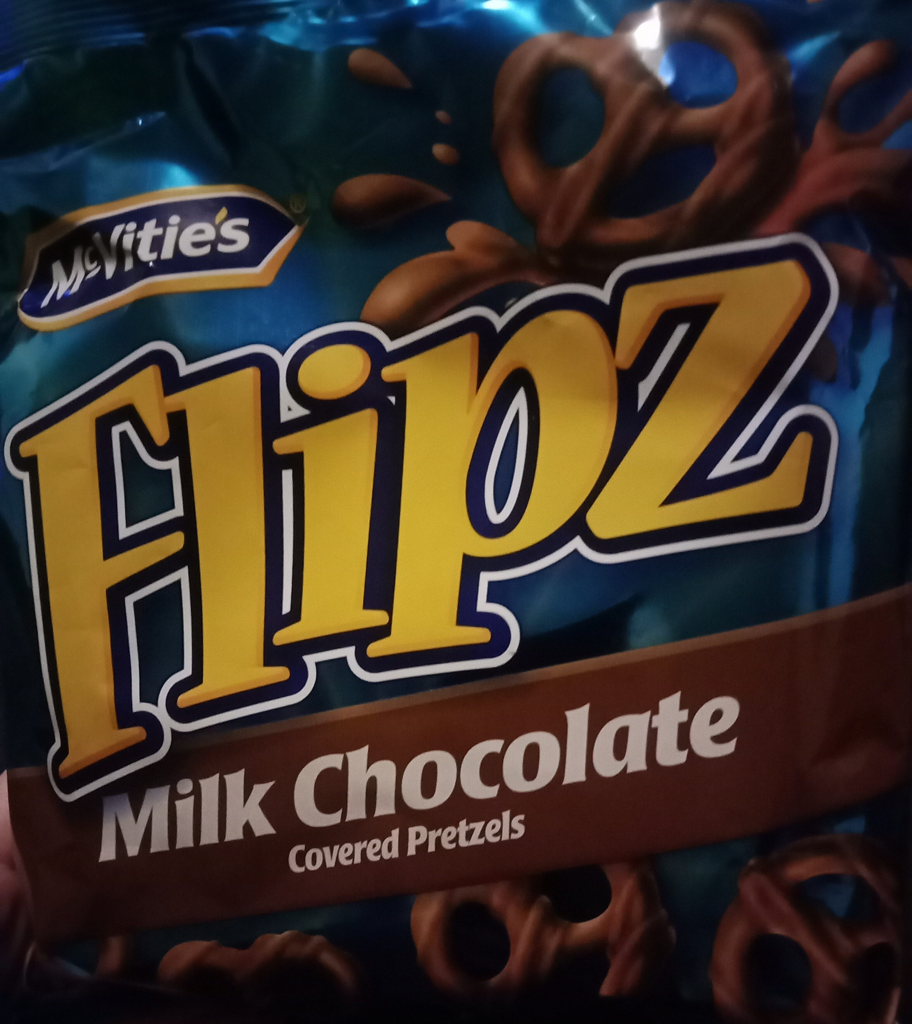 Flipz milk chocolate - Ingrédients - en