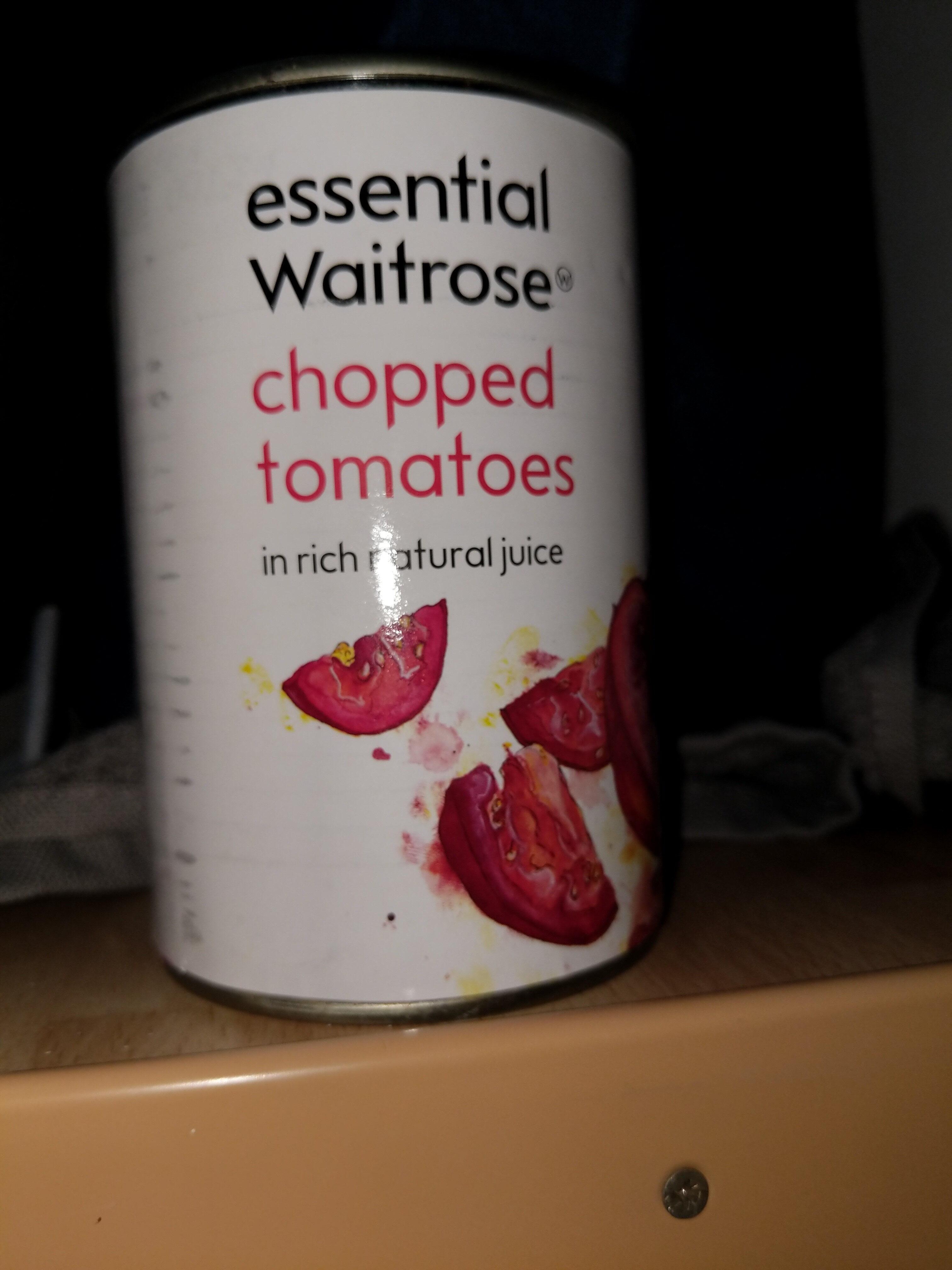Chopped tomatoes - Produit - en
