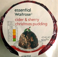 Cider & Sherry Christmas Pudding - Product - en