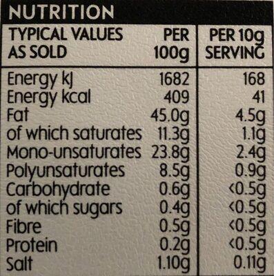 Waitrose 12 Free Range Large Eggs - Nutrition facts - en