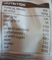 British Braeburn Apples - Voedingswaarden - en