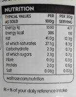 French Crème fraîche - Valori nutrizionali - en