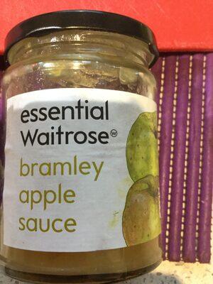 Waitrose Essential Bramley Apple Sauce - Product
