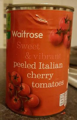 Peeled Italian Cherry Tomatoes - Product