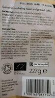 Sumatra Mandheling - Informations nutritionnelles - en