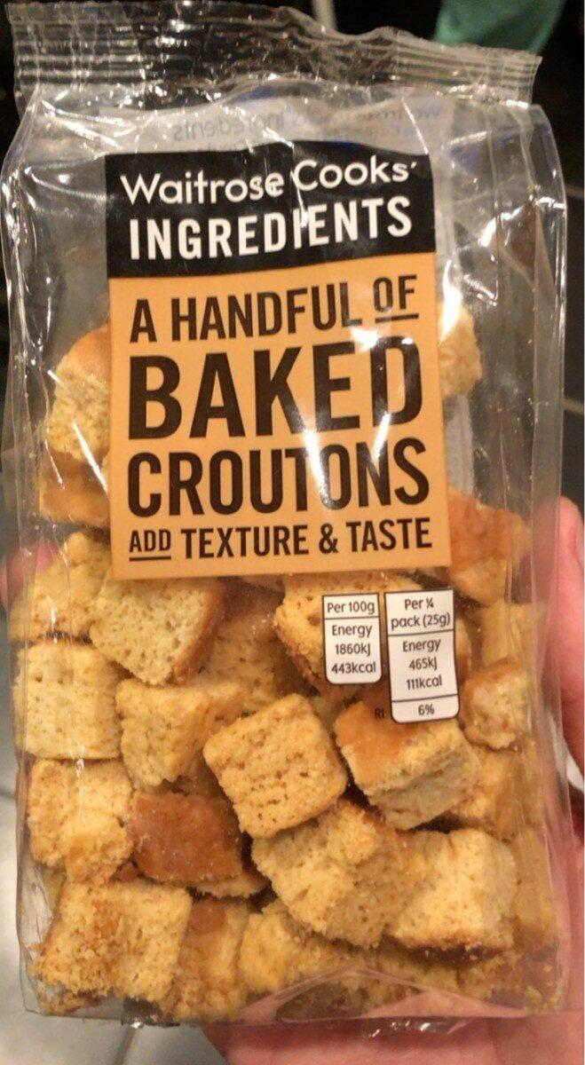 Baked croutons - Produit - fr