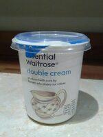 Essential Waitrose double cream - Product