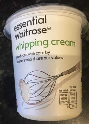 Whipping cream - Product - en