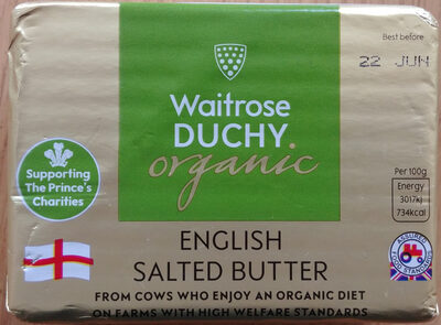 Organic Salted Butter - Product - en