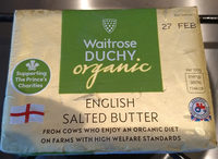 Waitrose Duchy organic Salted Butter - Product