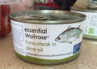 Tuna steak in olive oil - Product - en