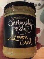 Seriously zesty lemon curd - Product