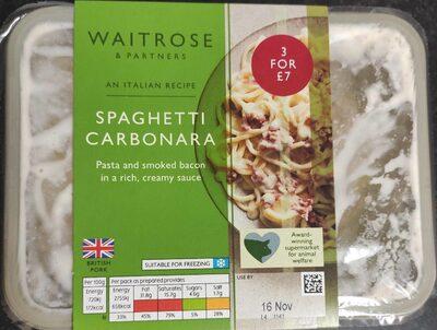 Spaghetti Carbonara - Product - en