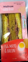 Egg Mayo & Bacon Sandwich - Product