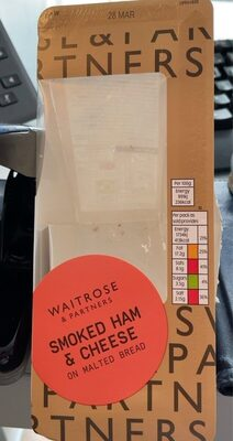 Smoked Ham & Cheese - Product - en