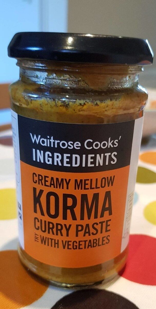 Creamy mellow korma curry sauce - Produit - en