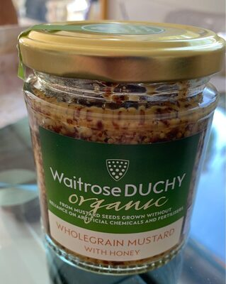 Wholegrain Mustard with Honey - Product - en