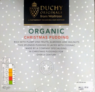 Organic Christmas Pudding - Product
