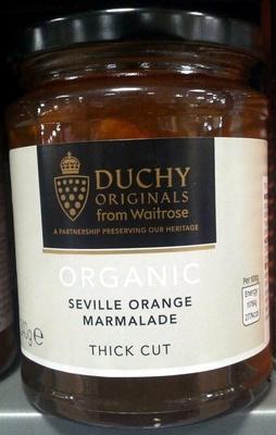 Organic Seville Orange Marmalade Thick Cut - Product