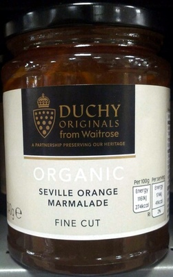 Organic Seville Orange Marmalade Fine Cut - Product
