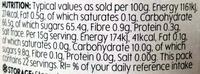 Organic Seville Orange Marmalade Fine Cut - Nutrition facts