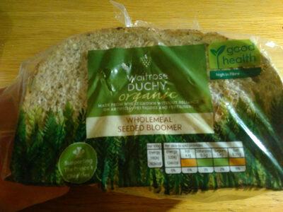 Waitrose Duchy Organic Wholemeal Seeded Bloomer - Produit