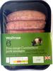 free range Cumberland pork sausages - Product