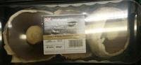 Large flat white mushrooms - Produit