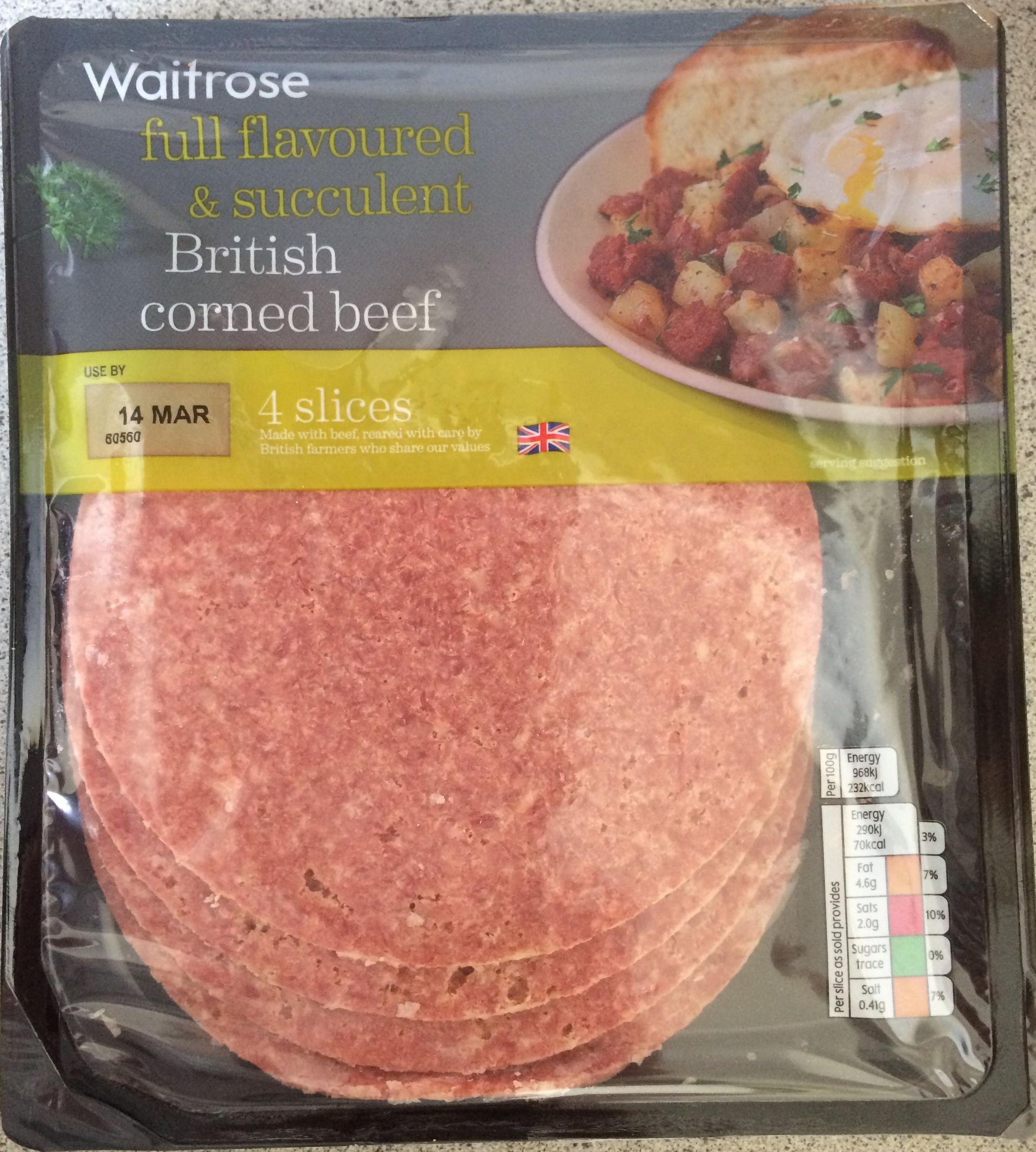 British Corned Beef - Product - en