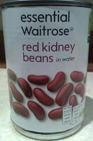 Red kidney beans in water - Product
