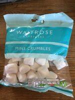 Waitrose mint crumbles - Product - en